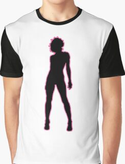 Female Silhouette #3 Graphic T-Shirt