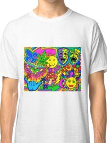 Mardi Gras Collage Classic T-Shirt