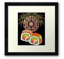 Japan sushi Framed Print