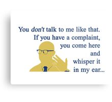 Quotes and quips - if you have a complaint Metal Print
