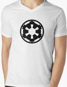 Galactic Empire (black) Mens V-Neck T-Shirt