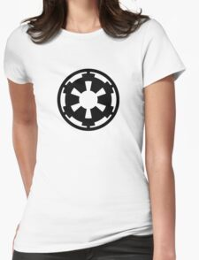 Galactic Empire (black) Womens Fitted T-Shirt