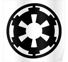 Galactic Empire (black) Poster
