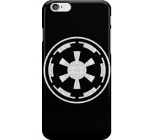 Galactic Empire (white, distressed) iPhone Case/Skin