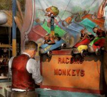 Midway - Racing Monkeys 1941 Sticker