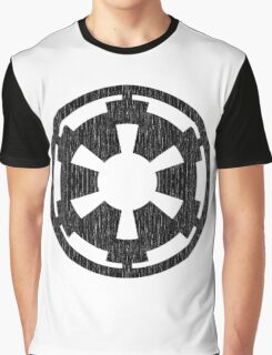 Galactic Empire (black, distressed) Graphic T-Shirt