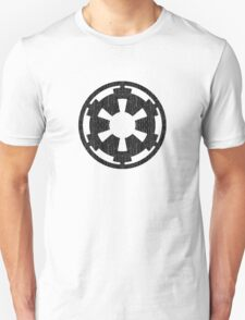 Galactic Empire (black, distressed) Unisex T-Shirt