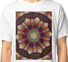 Stained Glass Mandala 2 Classic T-Shirt