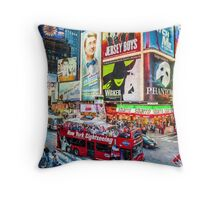 Times Square II (OP) Throw Pillow