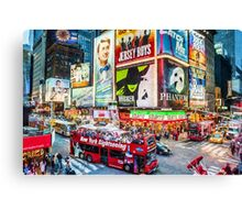 Times Square II (OP) Canvas Print