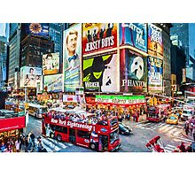 Times Square II (OP) Photographic Print