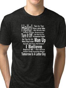Book of Mormon Tri-blend T-Shirt