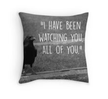 Three Eyed Raven Quote Throw Pillow