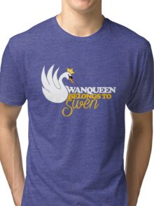 SwanQueen Belongs to Swen Tri-blend T-Shirt