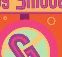 The Groovy Smoothie Sticker