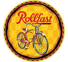 Rollfast bicycles Photographic Print