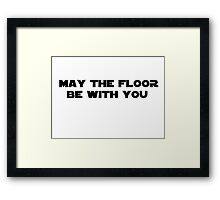 Star Wars Quotes Framed Print