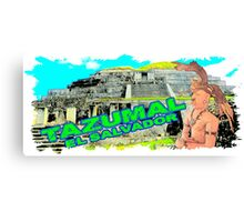Tazumal El Salvador  Canvas Print