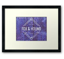 Fox & Hound Vintage: Winterscape Framed Print