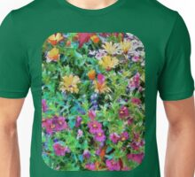 Wall flowers - painted Unisex T-Shirt
