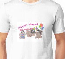 Party Sloths Unisex T-Shirt