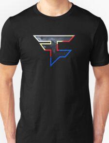 Faze 2.0 | World Logo | Black Background T-Shirt