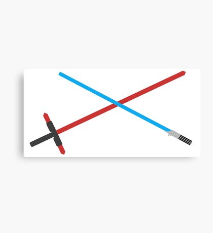 Lightsaber Fan art  Canvas Print
