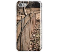 Old Wrought Iron Fence iPhone Case/Skin