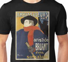 Toulous Lautrec Poster - Ambassadeurs Unisex T-Shirt