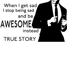 himym Barney Stinson Suit Up Awesome TV Series Inspired Funny  by andy212