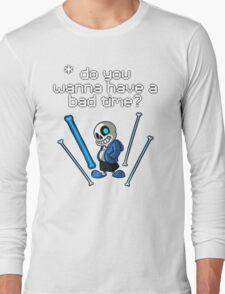 Undertale - Sans Long Sleeve T-Shirt