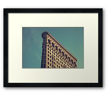 Flat Iron Framed Print