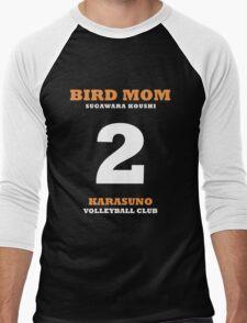 Bird Mom Sugawara Koushi Men's Baseball ¾ T-Shirt