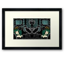 Framed in glory, 3 lives and counting (In color~) Framed Print