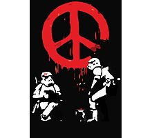 Banksy Storm Troopers  Photographic Print