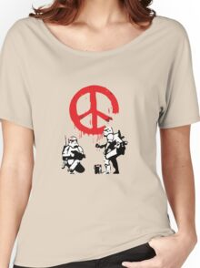 Banksy Storm Troopers  Women's Relaxed Fit T-Shirt