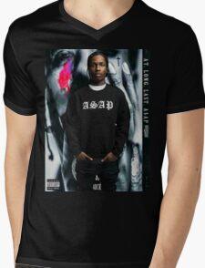 ASAP ROCKY - A.L.L.A Mens V-Neck T-Shirt