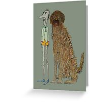 Dogs Life Greeting Card