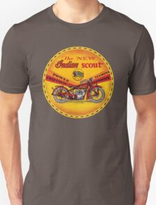 Indian Scout motorcycles T-Shirt