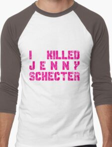 I killed Jenny Schecter - The L Word Men's Baseball ¾ T-Shirt