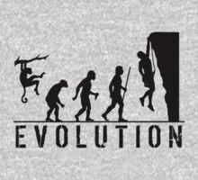 Evolution Rockclimbing by movieshirtguy