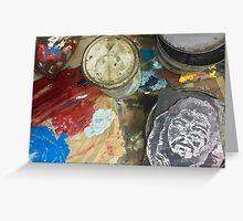 Cuba - Cienfuegos - gallery - Che art Greeting Card