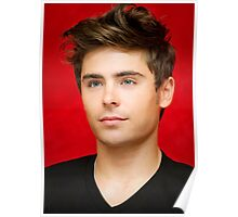 Handsome Zac Efron By omans Poster