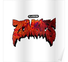 Flatbush Zombies Red Galaxy Poster