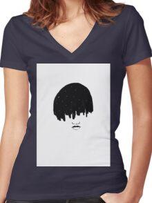 Brooklyn Girls Don't Sleep Women's Fitted V-Neck T-Shirt