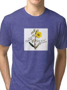 Flower Power Tri-blend T-Shirt