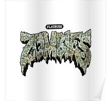 Flatbush Zombies Weed Poster