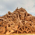 Sand Sculpting by Gerard Rotse