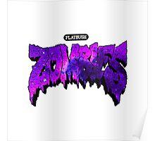 Flatbush Zombies Purple Galaxy Poster