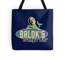 Star Trek - Balok's Tranya Bar Tote Bag